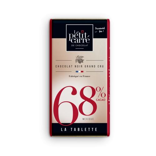 Tablette 68% origine Mexique 90 g