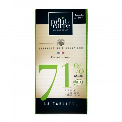 Tablette 71% Bio 90 g