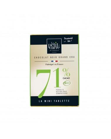 Mini tablette 71% Bio 30 g
